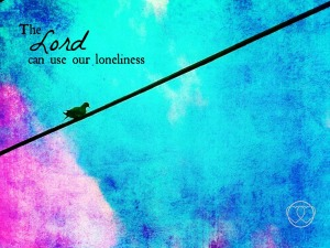 Loneliness postcard