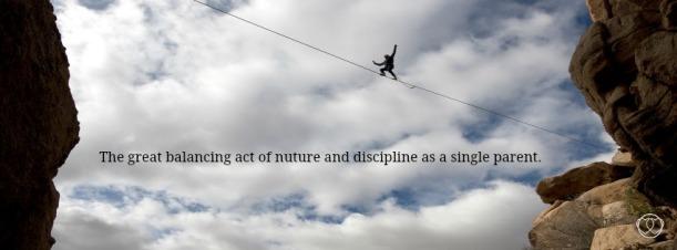 single parent tightrope